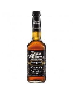 "Evan Williams Whisky Bourbon ""black lable"" bottiglia 70 cl"""