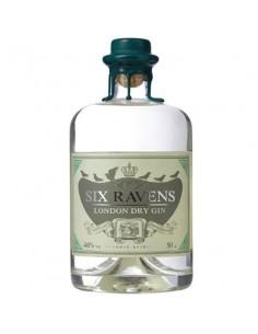 Six Ravens London Dry Gin 0.50 Lt