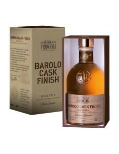 LUIGI FRANCOLI Grappa Cask finish Barolo Bottiglia 500 ml