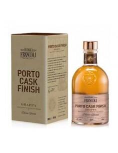 LUIGI FRANCOLI Grappa Cask Finish Porto Bottiglia 500 ml