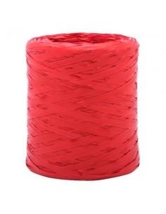 Nastro di raphia color rosso 200 m