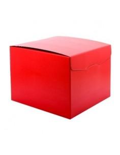 Scatola segreto lino rosso cm 400 x 280 x 250 conf. 2 pezzi