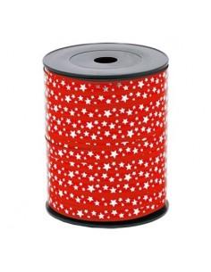 Nastro PLP ministars rosso/bianco 10mm x 15 m