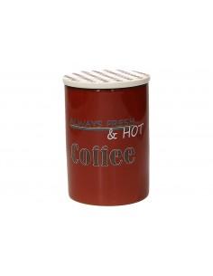 TOGNANA Barattolo Caffè Vintage in Ceramica