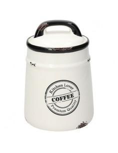 TOGNANA Barattolo Caffè Urban Chic diametro 12 cm