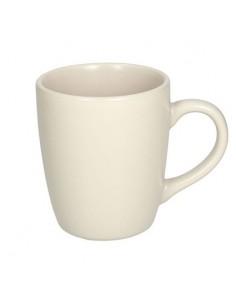 TOGNANA Mug in Ceramica Crema Linea Fabric 400 cc Cartone 6 Pezzi