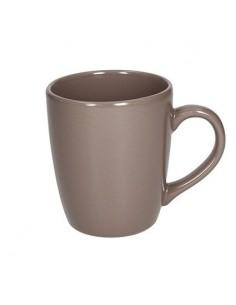 TOGNANA Mug in Ceramica Tortora Linea Fabric 400 cc Cartone 6 Pezzi