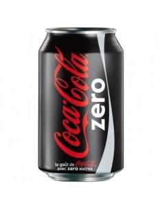Coca Cola Zero Lattina Fardello 24 Lattine da 33 Cl.