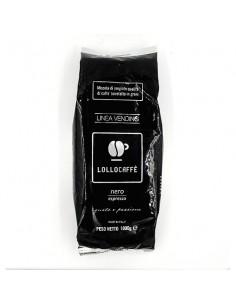 Lollo Caffe in Grani Espresso Nero Busta da 1 Kg