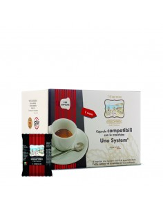 TODA CAFFE Uno System RICCO Cartone 100 Capsule