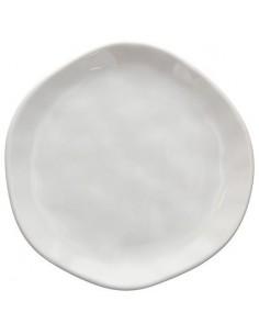 TOGNANA Piatto DESSERT Linea Nordik WHITE 20 cm Confezione 6 Pezzi