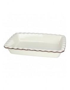 TOGNANA Pirofila Rettangolare Linea PL-Cook Country Cook Cream 33x23 h 6,2 cm