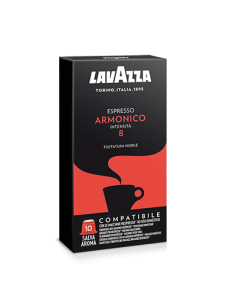LAVAZZA NESPRESSO Espresso ARMONICO Master 100 capsule 10 Astucci da 10 pezzi