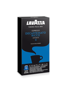 LAVAZZA NESPRESSO Espresso DECA RICCO Master 100 capsule 10 Astucci da 10 pezzi