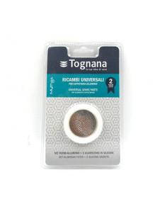 TOGNANA Filtro ALL+3 guarnizioni silicone Grancucina R 0,5 tz