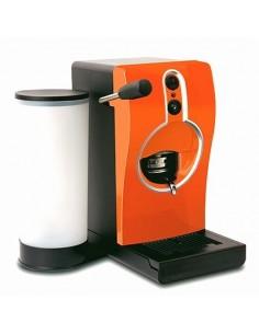 GRIMAC Macchina Caffe Tube ARANCIONE a cialde ESE44 + 100 Cialde Kimbo Napoli compostabile