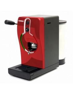 GRIMAC Macchina Caffe a cialde TUBE ROSSA + 100 Cialde Kimbo Espresso Napoli