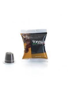 CAFFE TORALDO Nespresso GOURMET 100% Arabica Cartone 100 Capsule