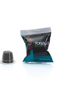 CAFFE TORALDO Nespresso DECAFFEINATO Cartone 100 Capsule
