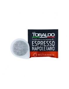 CAFFE TORALDO Cialda CREMOSA Cartone 150 Cialde diametro 44