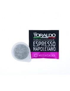 CAFFE TORALDO Cialda Miscela Classica Cartone 150 Cialde diametro 44