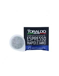 CAFFE TORALDO Cialda Miscela Arabica Cartone 150 Cialde diametro 44