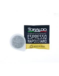 CAFFE TORALDO Cialda Miscela Deka Cartone 150 Cialde diametro 44