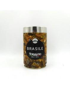 CAFFE TORALDO Macinato monorigine Brasile Latta 250 grammi