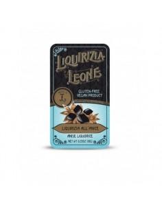 LEONE Liquirizia Pura all'Anice in Lattina 10 g - 24 pezzi