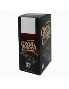 GRAN CHOCK Cioccolato FONDENTE Espositore 30 bustine Professionale da 28 grammi