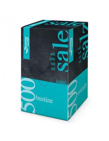 SALE IODATO Monodose Espositore 500 Bustine da 1 g