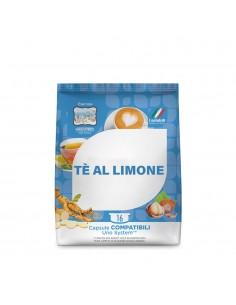 TODA CAFFE UNO System THE LIMONE Sacchetto da 16 capsule