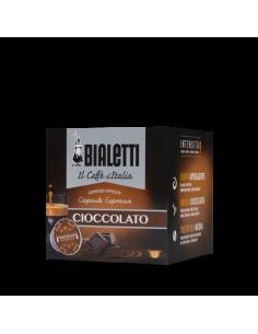 BIALETTI CAFFE AL CIOCCOLATO Astuccio 12 Capsule in Alluminio