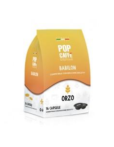 POP CAFFE BABILON ORZO Sacchetto 16 capsule compatibili Bialetti