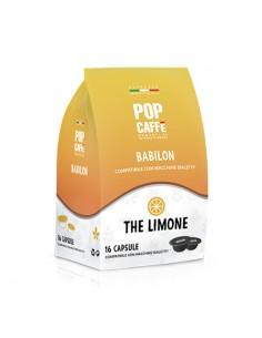 POP CAFFE BABILON TE LIMONE Sacchetto 16 capsule compatibili Bialetti