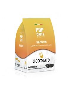 POP CAFFE BABILON CIOCCOLATA Sacchetto 16 capsule compatibili Bialetti
