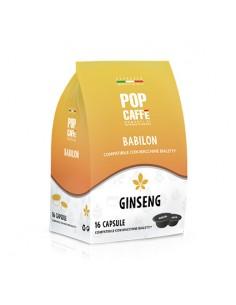 POP CAFFE BABILON GINSENG Sacchetto 16 capsule compatibili Bialetti