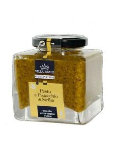VILLA REALE Supreme Pesto di Pistacchi di Sicilia 390 g
