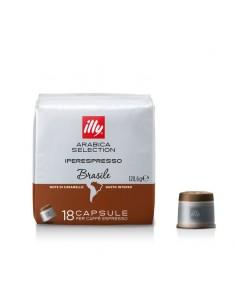 ILLY CAFFE Iperespresso BRASILE Astuccio 18 Capsule