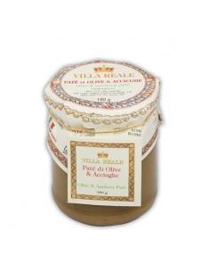 VILLA REALE Patè di Olive & Acciughe 180 g