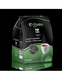 POP CAFFE E-GUSTO CREMOSO Astuccio 16 Capsule Dolce Gusto
