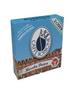 CAFFE BORBONE MACINATO DECISO Bipack 2 pacchetti 250 grammi