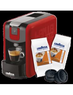 LAVAZZA Macchina Caffe Point EP MINI NERA + 100 Capsule CREMOSO