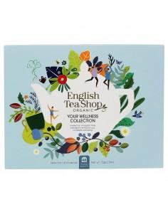 ENGLISH TEA SHOP YOUR WELLNESS COLLECTION BIO ECO-BOX BIANCO 48 Filtri 94 g