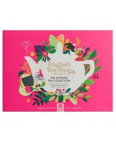 ENGLISH TEA SHOP ULTIMATE TEA COLLECTION BIO ECO-BOX FUCSIA 48 Filtri 94 g