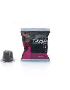 CAFFE TORALDO FIOR FIORE CLASSICA Cartone 100 Capsule