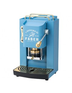 FABER PRO DELUXE TURQUOISE Macchina a cialde ESE44