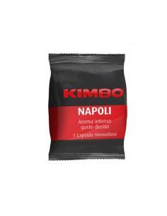 KIMBO Espresso Point NAPOLI Rosso Cartone 100 Capsule