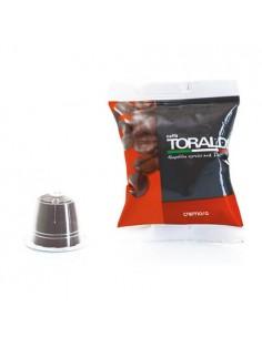 CAFFE TORALDO Nespresso CREMOSA Cartone 100 Capsule