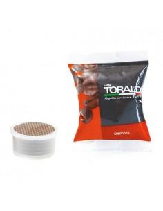 CAFFE TORALDO Espresso Point CREMOSA Cartone 100 Capsule